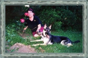 Xena and I in  Caledon Park